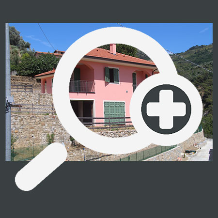 Liguria Estate; magnifying glass for inmages